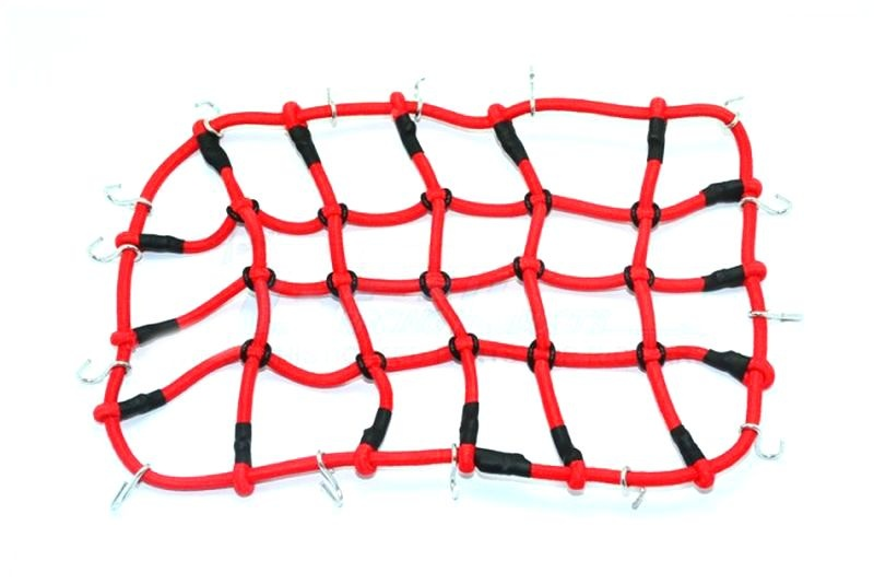 SCALE ACCESSORIES:  ELASTIC CARGO NETTING FOR CRAWLERS -1PC