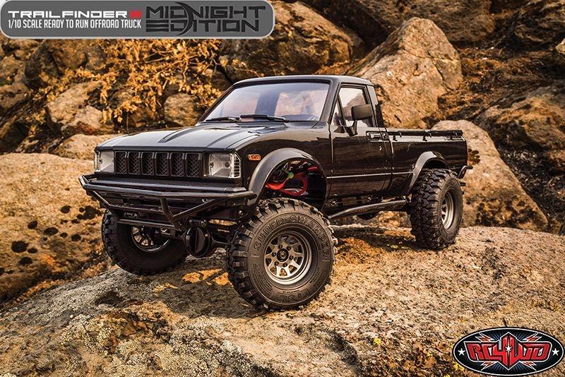 RC4WD Midnight Edition Trail Finder 2 RTR w/Mojave II Body S