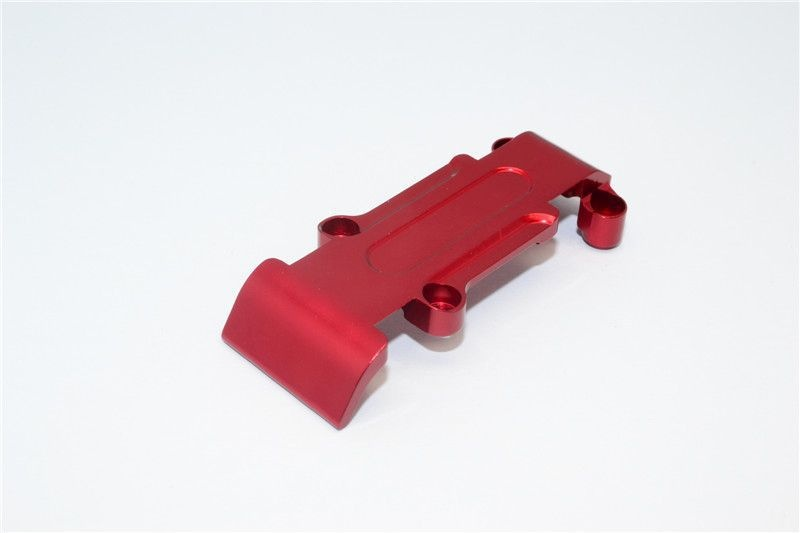 ALLOY REAR SKID PLATE - 1PC red