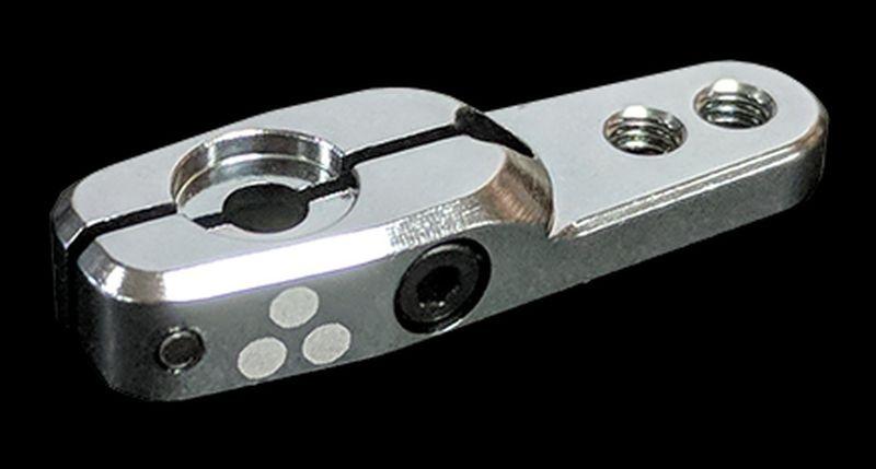Servo Arm Dual Clamping AL, Crowbar20, 20mm, 25T