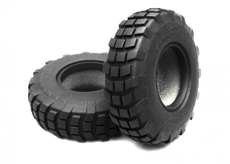 Mud Plugger 1.9 Scale Tires
