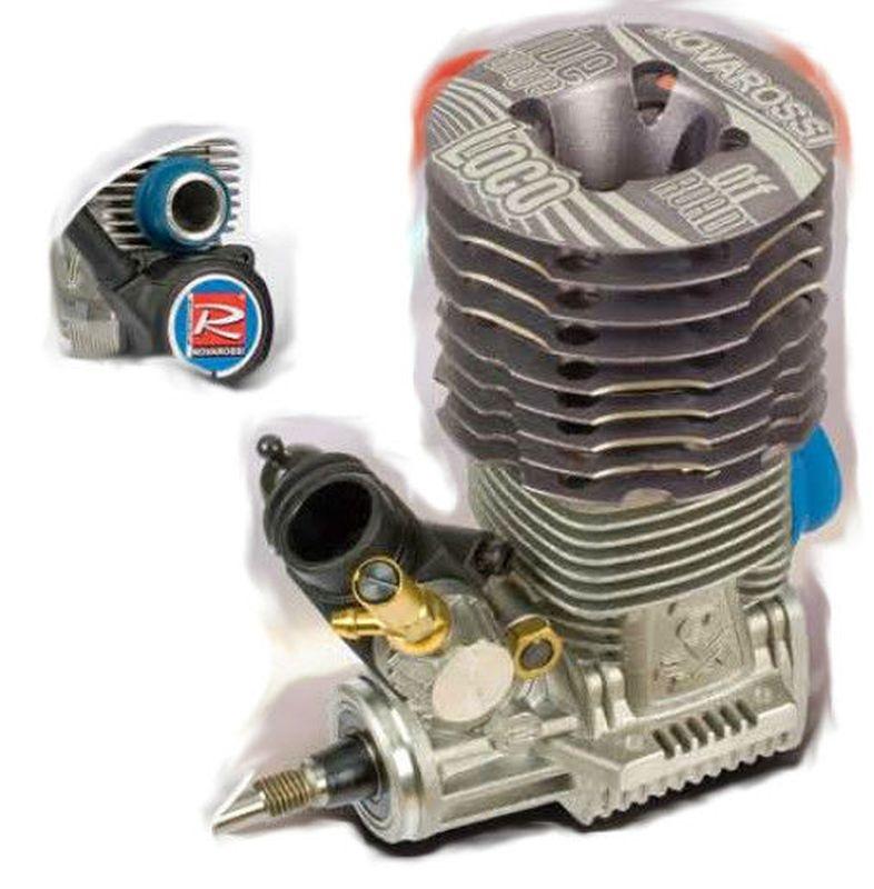 NOVAROSSI LOCO 3.5cc mit Seilzug-Starter mit Reso-Rohr