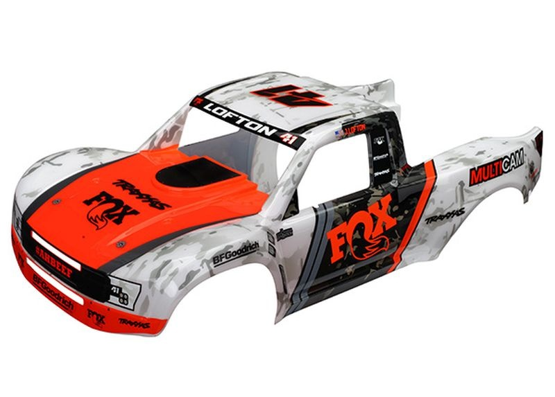 Karo Desert Racer Fox Edition (lackiert) +Aufkleber