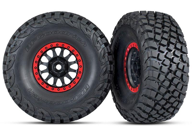 Reifen auf Felge montiert BFGoodrich Baja KR3 Reifen (2)