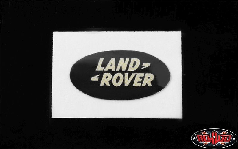 Land Rover Emblem for Gelande II D90/D110 Body (Black)
