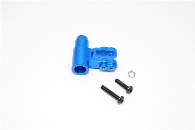 ALUMINIUM STEERING POST - 1PC SET blue