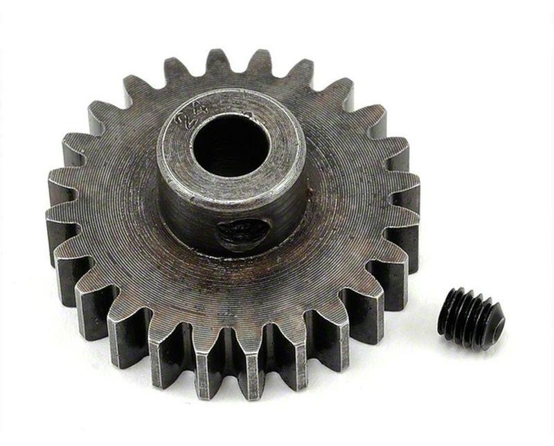 Extra Hart 5mm Bohrung 1.0 Modul Ritzel 24 Zähne