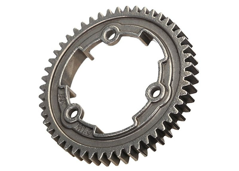 Spur gear, 50-tooth, steel (1.0 metric pitch)