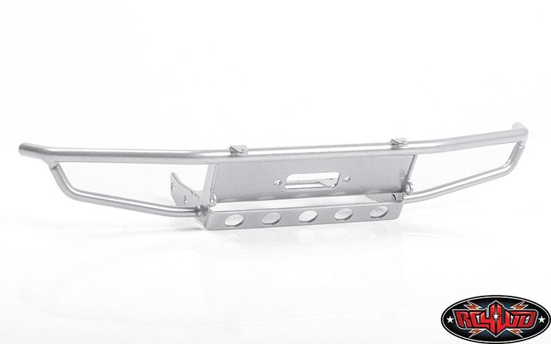 Guardian Steel Front Winch Bumper for Axial 1/10 SCX10 II UM