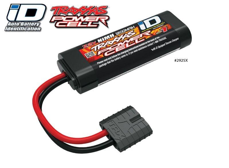 Akku Power-Serie 7,2V mit iD-Stecker