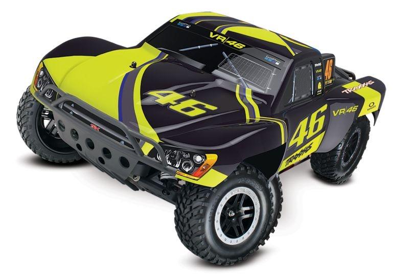 TRAXXAS Slash VR46-Edition RTR +12V-Lader+Akku