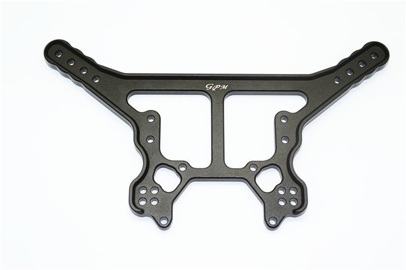 ALUMINUM REAR DAMPER PLATE -1PC SET black