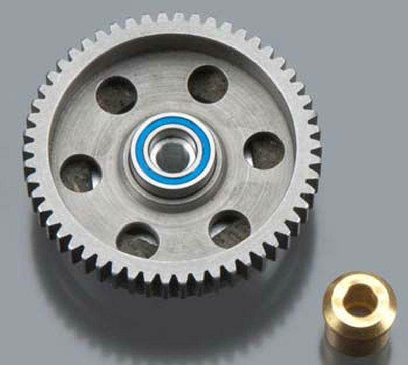 HP Slipper Kit 54T Stahl Spur/Backplate/bearing  Gen3