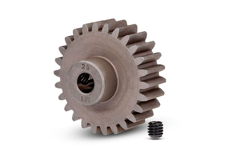 Gear, 26-T pinion (1.0 metric pitch) (fits 5mm shaft)/ set s