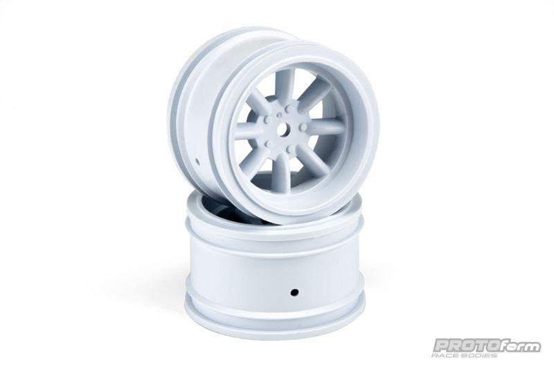 SLVR VTA Felgen hinten (31mm) weiß