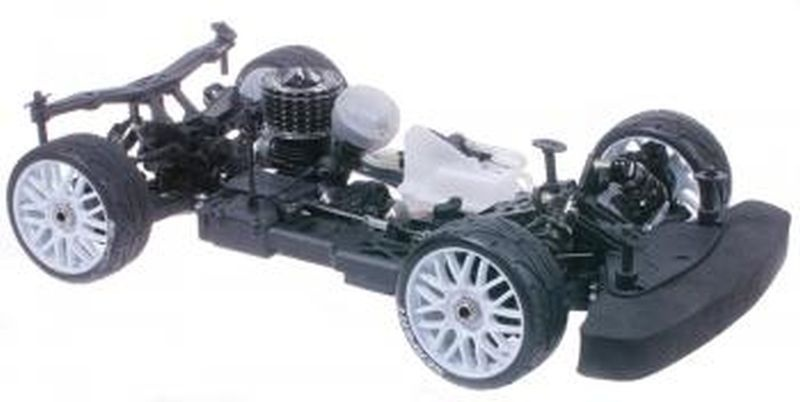 Serpent Cobra GTE LWB 1/8 EP Raceroller ohne Karosserie