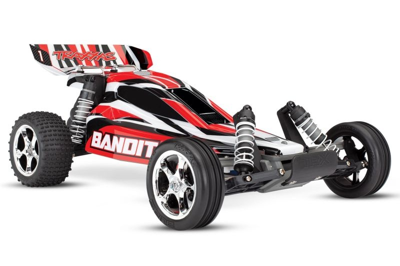TRAXXAS Bandit rot Buggy RTR ohne Akku/Lader