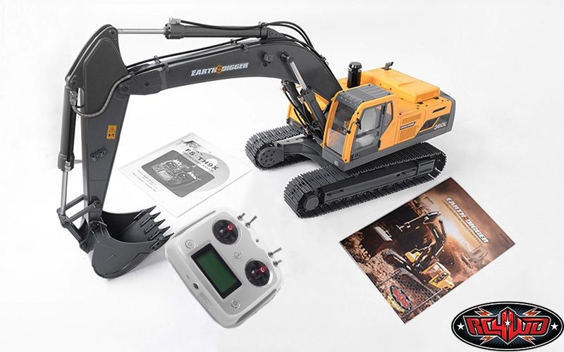 1/14 Scale Earth Digger 360L Hydraulic Excavator (RTR)
