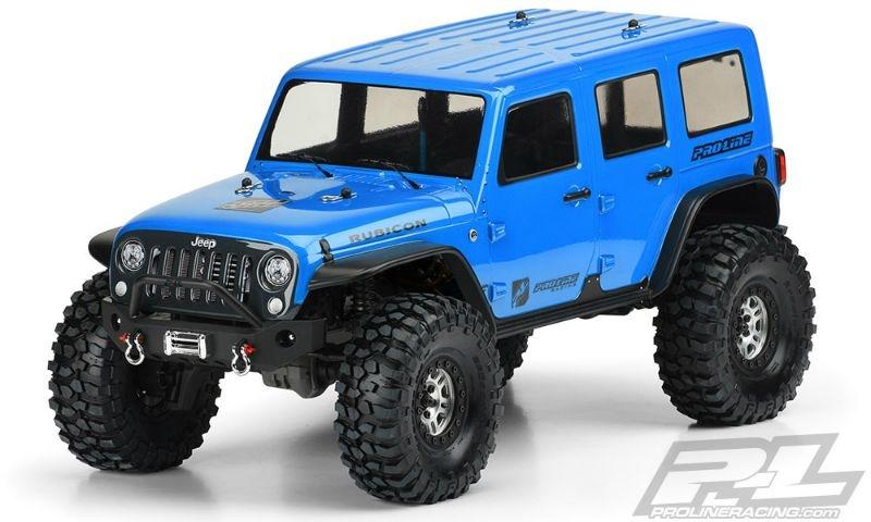 Pro-Line Jeep Wrangler Unlimited Rubicon Karo (klar)