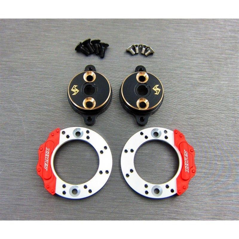 SAMIX Enduro brass rear brake adapter
