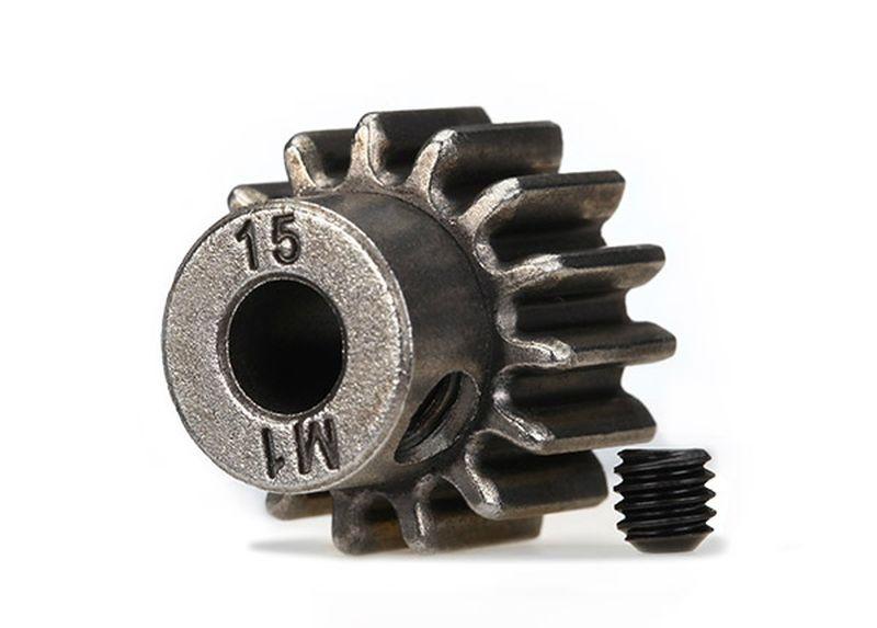 Zahnrad, 15-T Ritzel (1.0 Modul) 5mm Welle