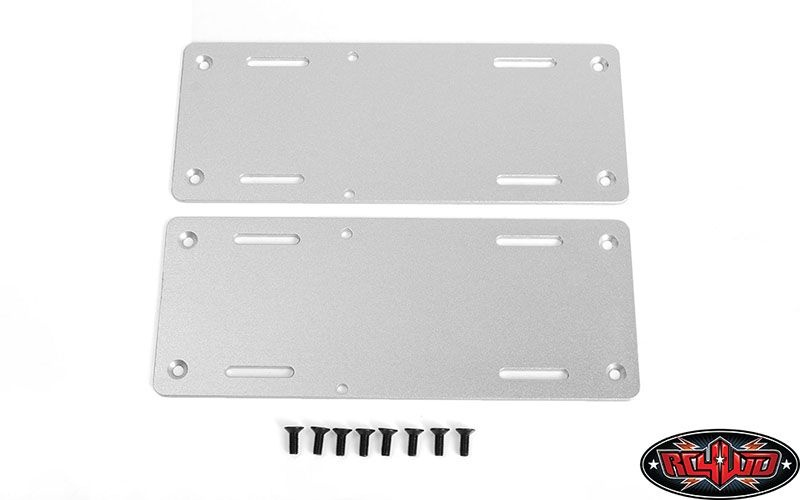 Battery Mounting Plate for Carbon Assault 1/10th Monster Tru