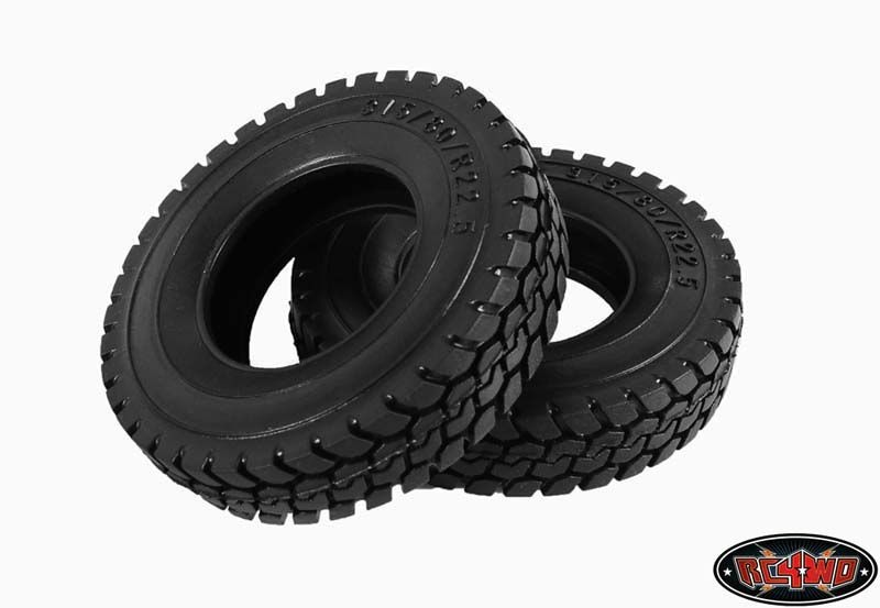 King of the Road 1.7 1/14 Semi Truck Tires