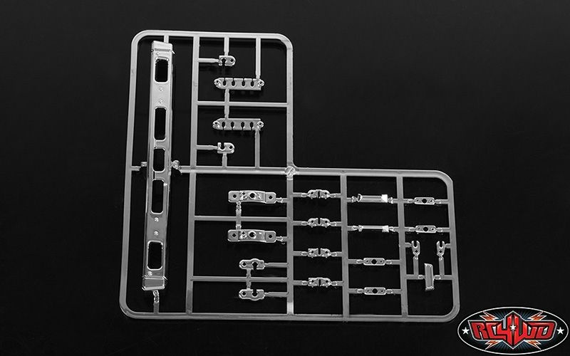 RC4WD Mojave II Chrome Bumper and Parts Tree