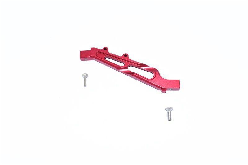 ALUMINUM FRONT CHASSIS BRACE -3PC SET red