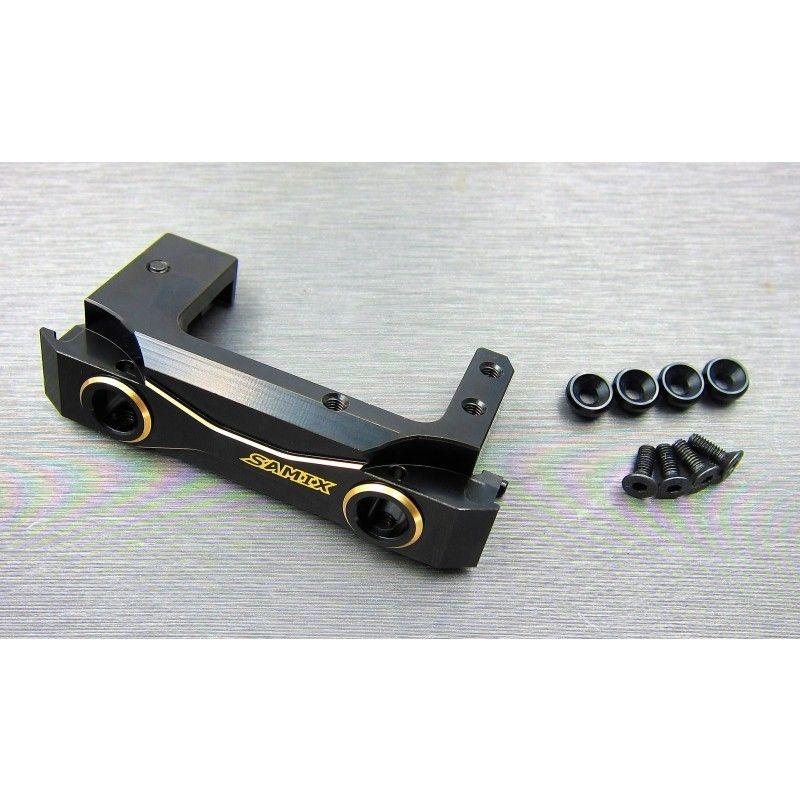SAMIX SCX10-2 front short brass bumper mount