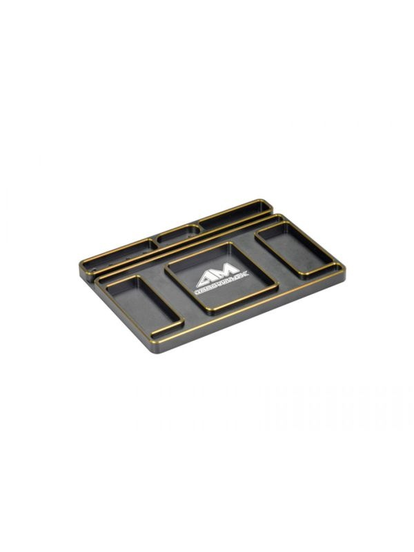 AM Alu Tray for Set-Up System Black Golden