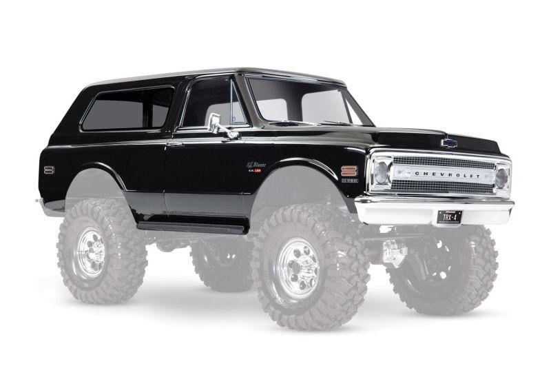 Karo Chevrolet Blazer 1969 schwarz (komplett mit Anbauteile)