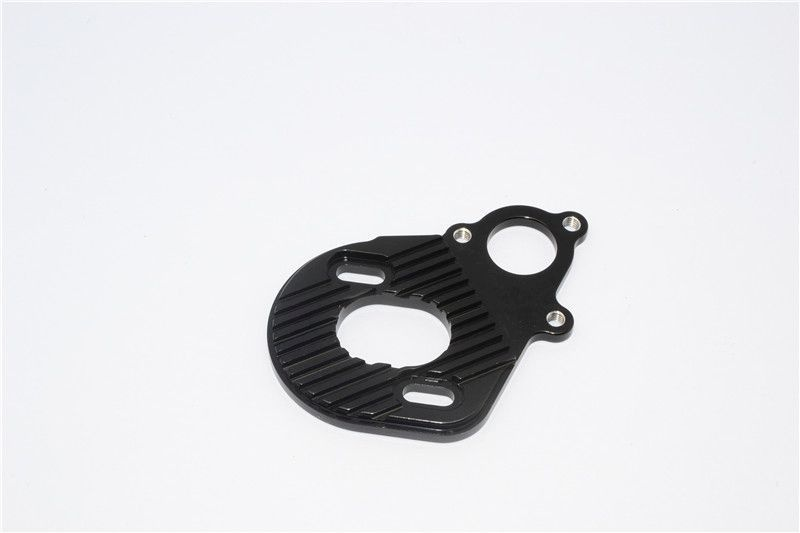 ALLOY MOTOR PLATE FOR AX10 SCORPION-1PC black