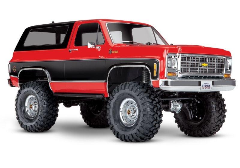 TRAXXAS TRX-4 Chevy Blazer 4x4 rot RTR ohne Akku/Lader