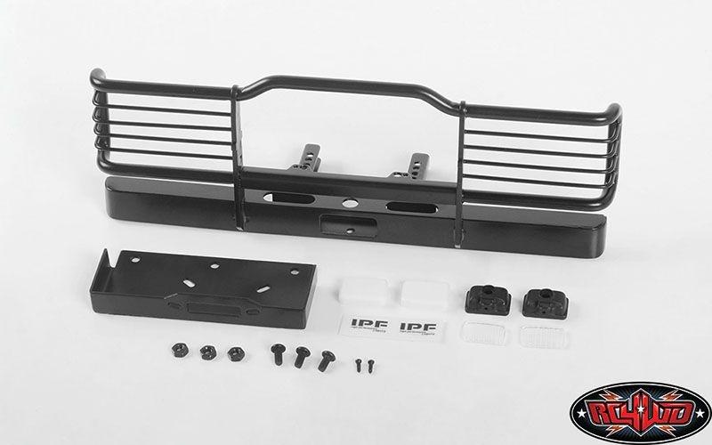 Bumper mit Winch Mount und IPF Lights für Traxxas TRX-4