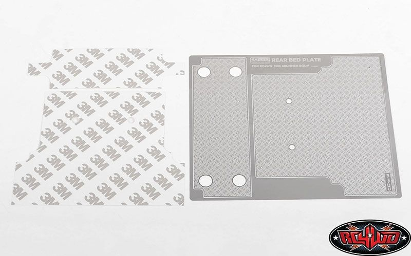 Diamond Plate Rear Bed for RC4WD 1985 Toyota 4Runner