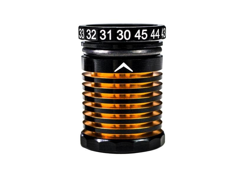 30-45mm Adjustable Ride Height Gauge Black Golden