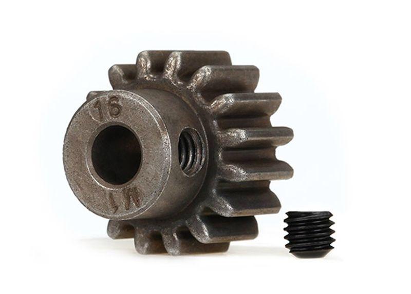Gear, 16-T pinion (1.0 metric pitch) (fits 5mm shaft)/ set s