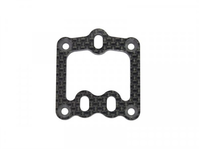 Caster plate carbon F110 SF4 (SER411425)
