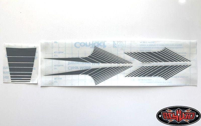 RC4WD Classic Stripes for 1985 4Runner Sheet (Grey)