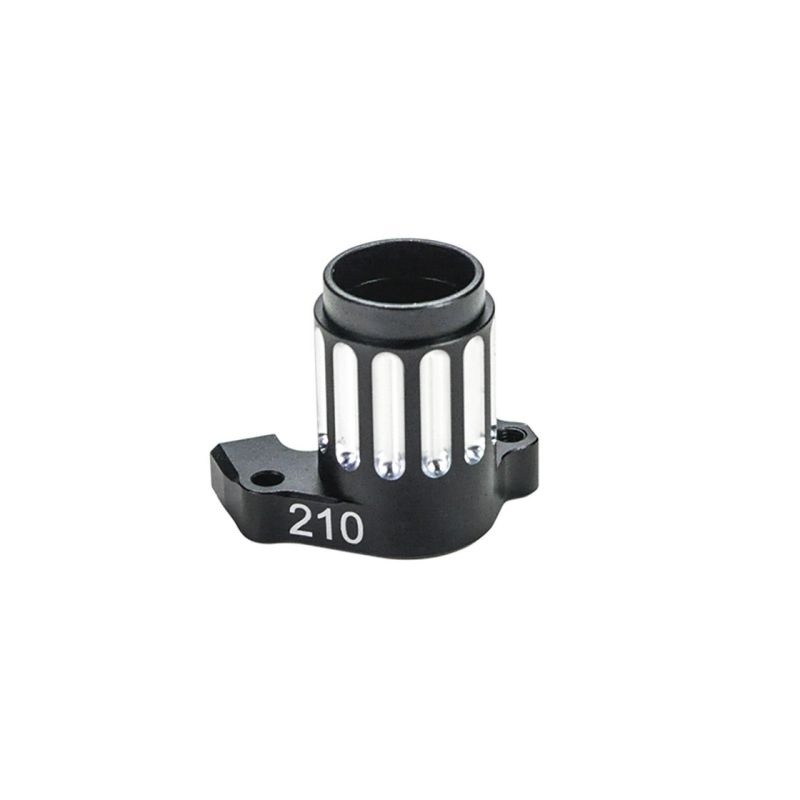Midshaft bearingblock 210 alu S989 (SER903794)
