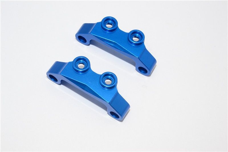 ALLOY FRONT & REAR UPPER ARM BULK - 1PR blue