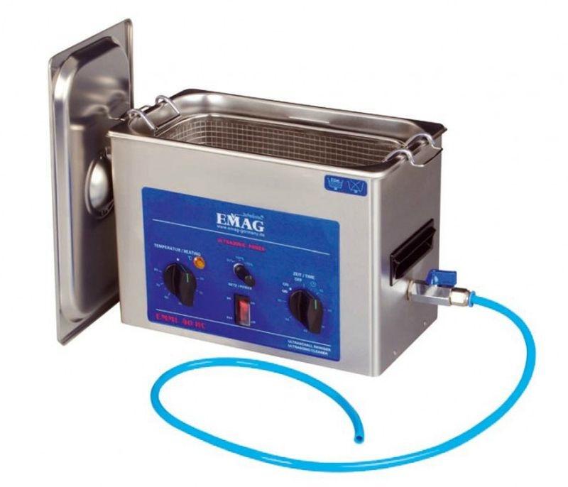 SLVR EM-40HC Ultraschallreiniger 4L (mit Ablaufhahn)