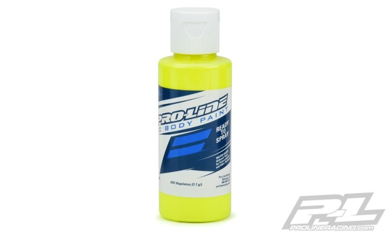 Pro-Line RC Body Paint - Fluorescent gelb