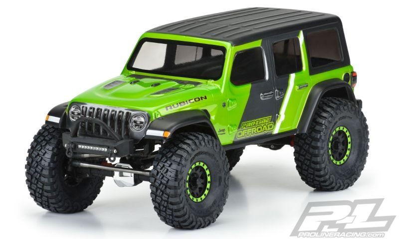 ProLine Jeep Wrangler JL Unlimited Rubicon Karo klar