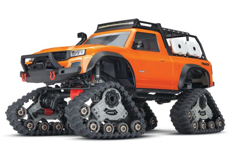 TRAXXAS TRX-4 mit All-TerrainTraxx orange RTR o. Akku/Lader