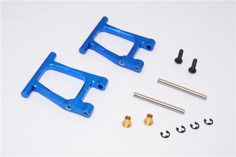 ALLOY REAR LOWER ARM - 1PR SET blue
