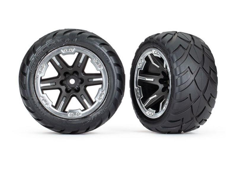 Reifen auf Felge 2.8 RXT chromschwarz / Anaconda (TSM rated)