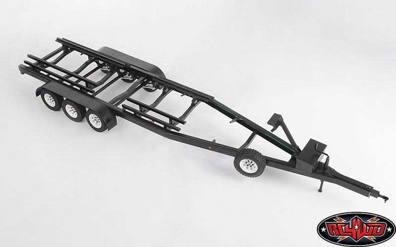 BigDog 1/10 Tri Axle Widebody Scale Boat Trailer