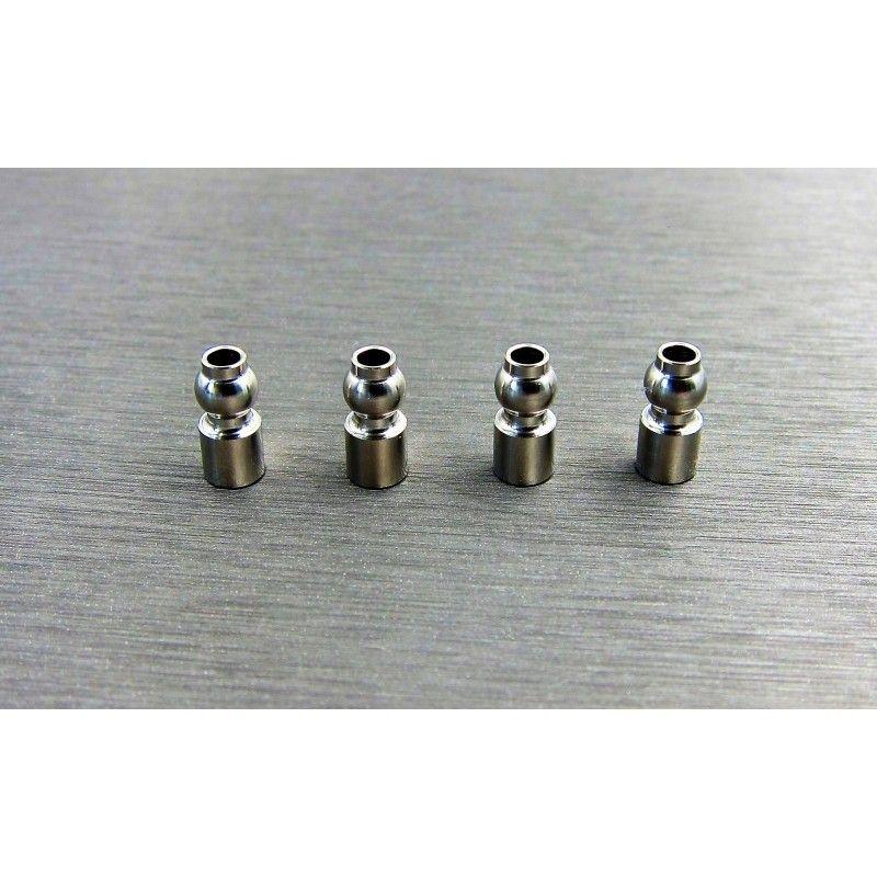 SAMIX SCX10-3 stainless steel 5.8mm upper suspension ball